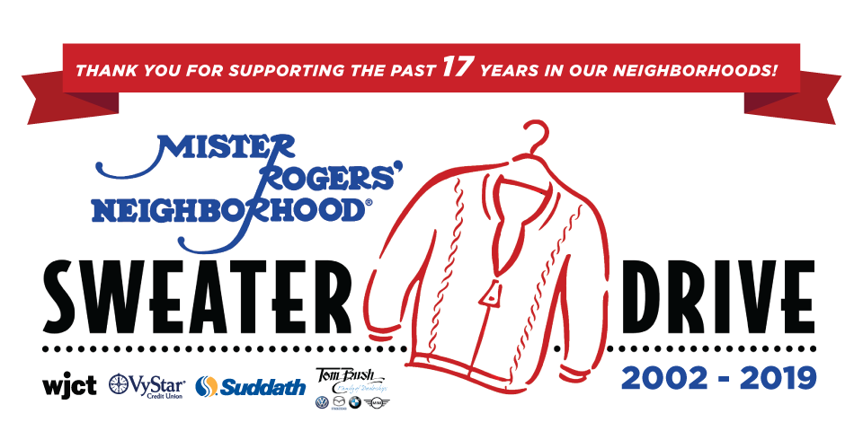 Mr. Rogers' Neighborhood Sweater Drive