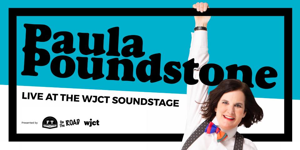 Paula Poundstone at the WJCT Soundstage