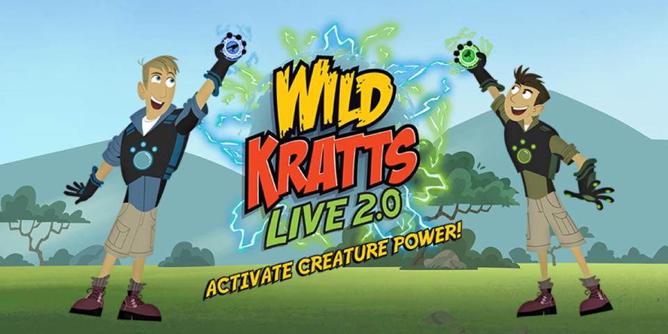 Wild Kratts LIVE 2.0: Activate Creature Power