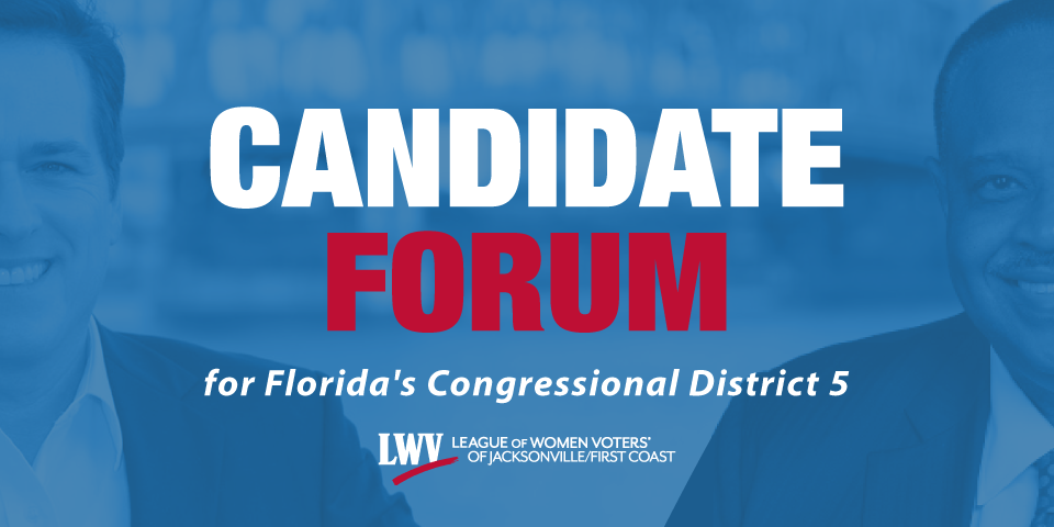 Candidate Forum for Florida's Congressional District 5