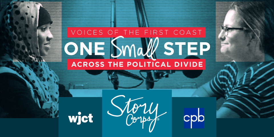 Voices of the First Coast: One Small Step Across the Political Divide (Virtual)