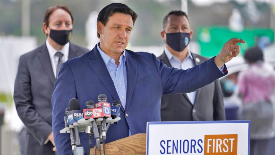 Poll: Majority Of Voters Approve Of DeSantis; He Leads In Theoretical Reelection Matchups